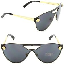 Versace VE2161100287 Gold Gray Sunglasses