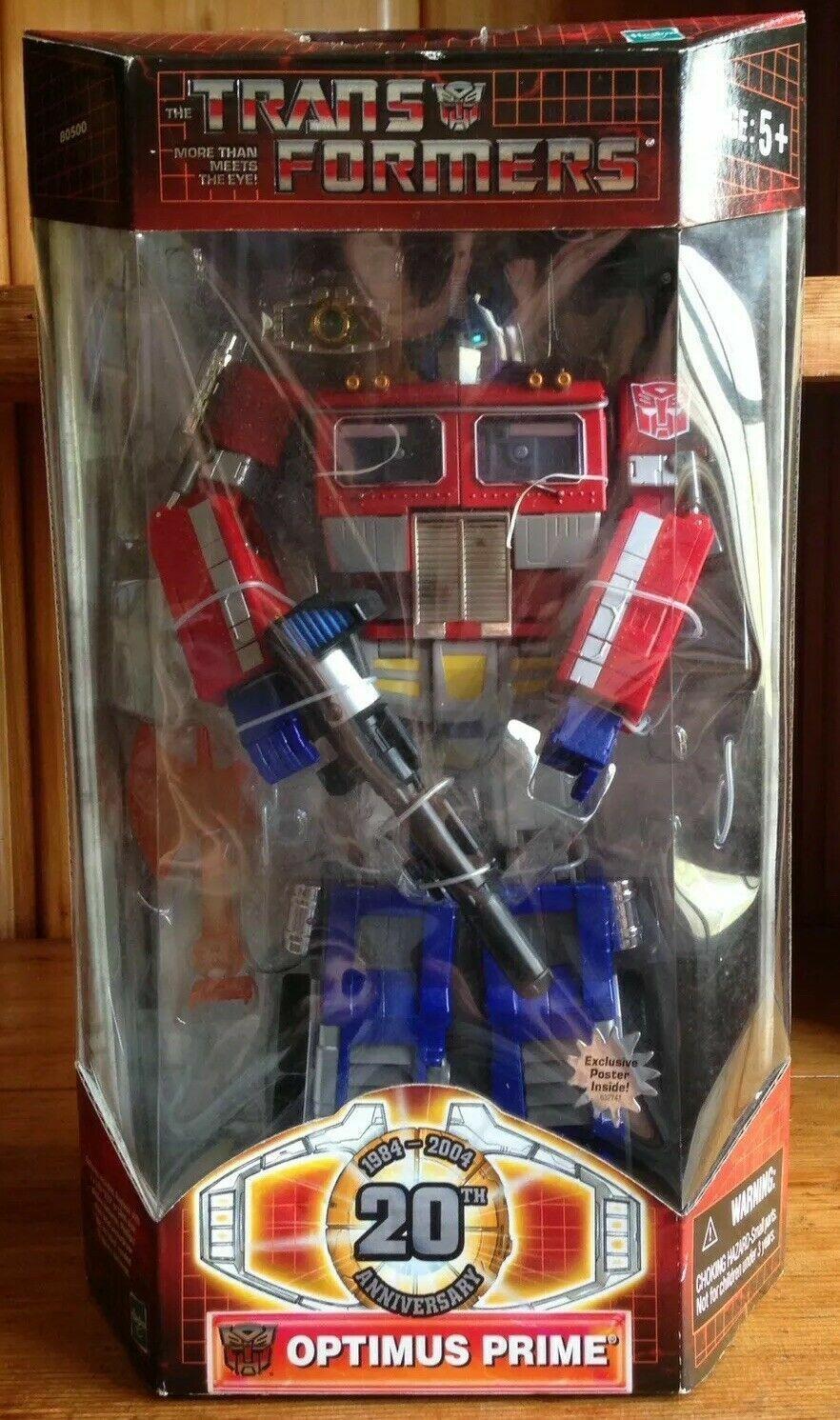 Nuevo Hasbro Transformers Masterpiece 2004 Optimus Prime 20th aniversario Menta en Caja Sellada