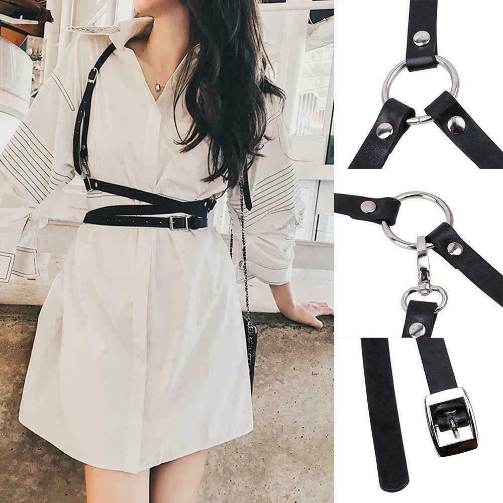 2Color Fashion Leather Waist Straps, Personality Straps, Straps Integrated Y2H4