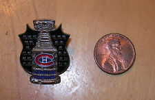 Stanley Cup Les Canadiens Lapel Pin Official NHL - Hockey Near Mint!  Never Used