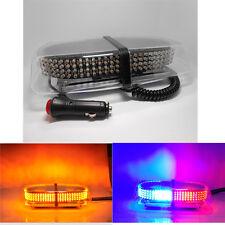 Blue 240LED 12V led lightbar Police Beacon Emergency Strobe bar warning Light