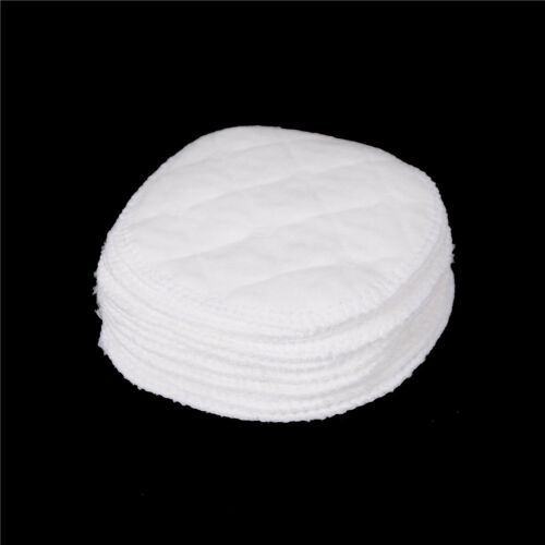 12x Reusable Breast Feeding Nursing Breast Pads Washable Soft Absorbent Baby SE
