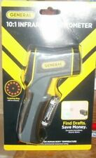 General Laser Temperature Irt217 Infrared Thermometer 101 Home Draft Detection