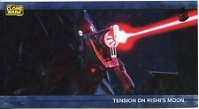 Star Wars Clone Wars Widevision Silver Stamped Parallel Base Card [500] #17