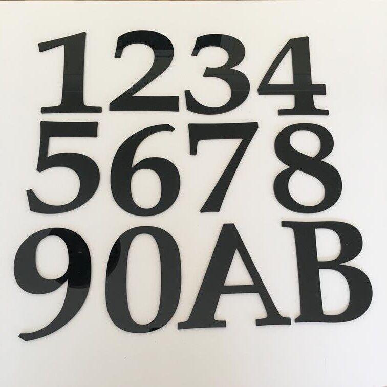 Numero CIVICO CIVICO CIVICO rettangolare di grandi dimensioni & nome della Strada Firmare-Lime verde & Bianco Lucido a2a6da