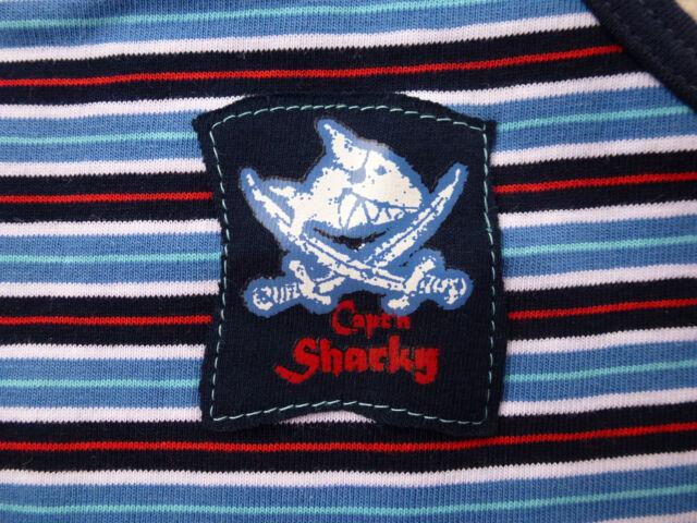 SCHIESSER Jungen Unterhemd Slip Hip-Shorts Capt´n Sharky Gr. 104 116 128 140 NEU