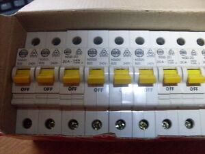 Wylex 40A B Type Circuit Breaker NSB Range
