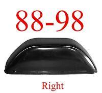 88 98 Right Inner Rear Tub Wheel House, Rust Reapir, Chevy Gmc Truck 1.2mm Thick