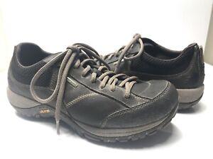 Dansko-Womens-Black-Sneakers-7-US-EUR-38-Waterproof-Vibram-Slip-Resistant-Shoe