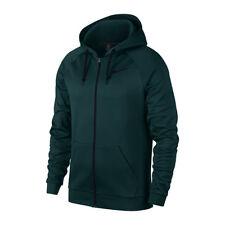 NIKE Men's Thermal Pullover Training Hoodie Vintage Green