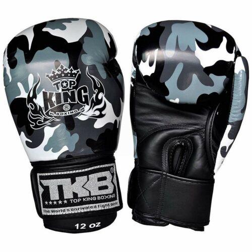 TOP KING TKBGEM-03 Army Sporting MMA Martial Arts Fight Muay Thai Boxing Gloves