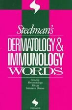 Stedman's Dermatology & Immunology Words (Stedman's Word Books.)