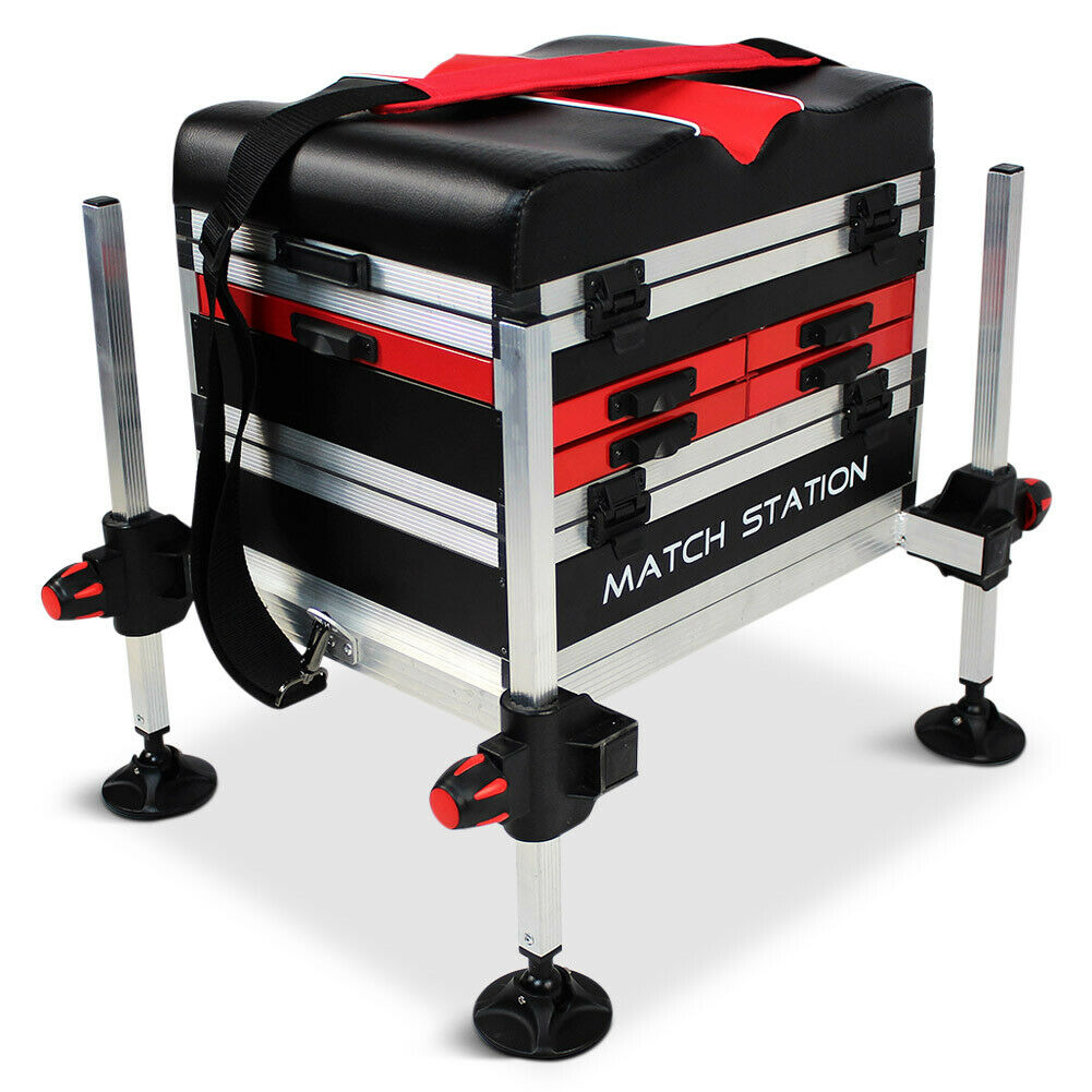 Match Station AS5 Drawer RED Alloy Pro-Sport Seat Box
