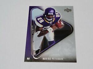 2007 Upper Deck Rookie Premiere #21 Adrian Peterson Minnesota Vikings NM+