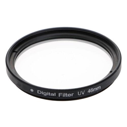 Hochwertige professionelle optische UV-Filter Kamera Linsen Protector Black 52mm