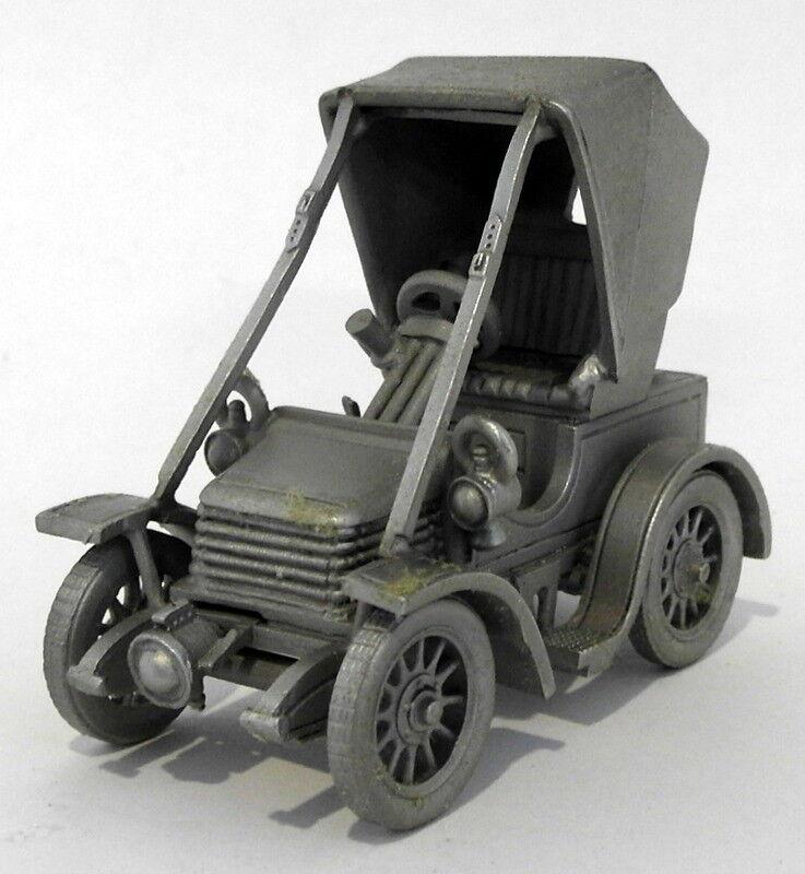 Danbury Mint Pewter Model Car Appx 6cm Long DA07 - 1904 Wolseley