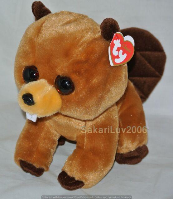 ada794c95f2 Richie Beaver beanie Babies Medium 13 Inch - Stuffed Animal by Ty ...