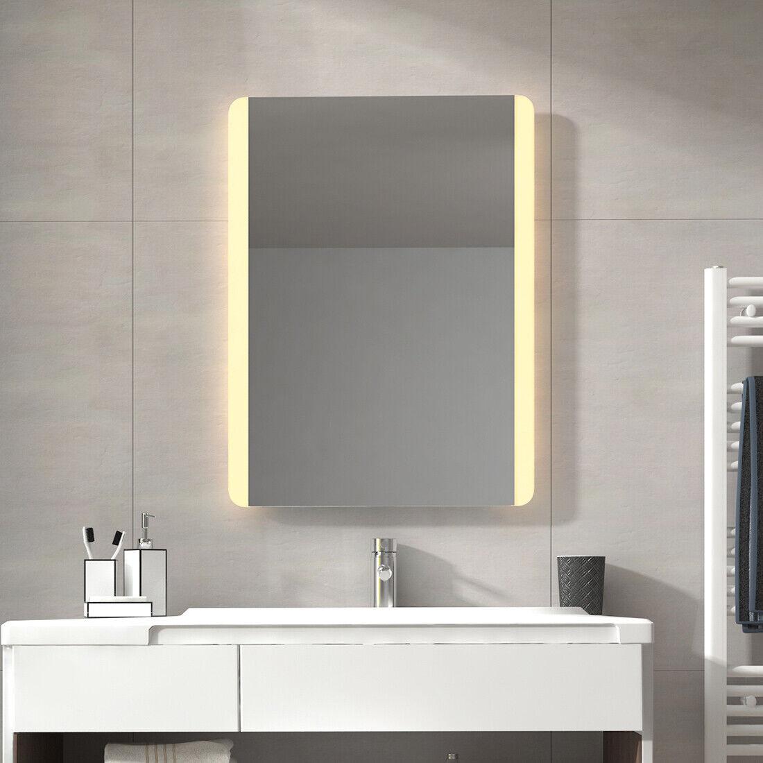 Badezimmerspiegel mit LED LED LED Beleuchtung Badspiegel Wandspiegel Bad Spiegel Licht 532a31