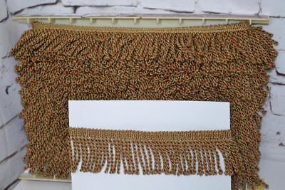 Bellissimo Vienna Lingotti Tenda Con Nappa Frangia Trim 6cm Oro 2/5/10 Metri-pl-3463 Un-mostra Il Titolo Originale