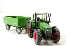 WIKING 3790129 Fendt Traktor und Krone Transport-Anhänger in grün Maßstab 1:87