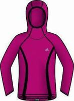 Adidas Jogging Long Sleeve Running Shirt Supernova Hoody 40 556582