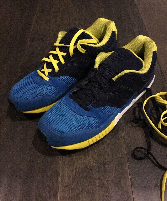 Mens New Balance 530 shoes M530RTB M530RTB M530RTB Sneakers size 12 Bionic Boom bluee Yellow New db0f32
