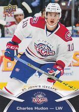 CHARLES HUDON 2015-16 15-16 UPPER DECK AHL BASE SP #107 ST. JOHN'S ICECAPS !