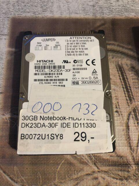 Hitachi  30GB,Intern,4200RPM