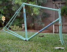 1989 Bianchi Superleggera Frame Set Vintage Columbus SLX Celeste 59cm