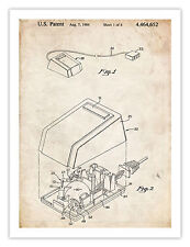 FIRST COMPUTER MOUSE POSTER 1984 US Patent Art Poster Print Apple Computer St...