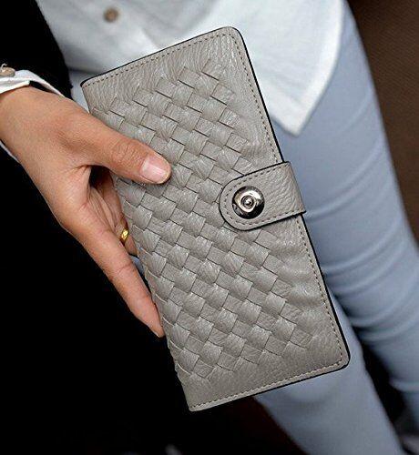 porte billets en simili cuir de qualité Porte-Cartes pour femme modèle long