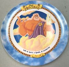 1997 Vintage McDonalds Zeus Disney Hercules 9 1/2? Plate RARE NEW UNUSED