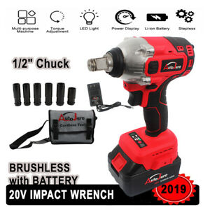 1-2-inch-Impact-Wrench-for-craftsman-Cordless-set-battery-18v-20v-high-torque