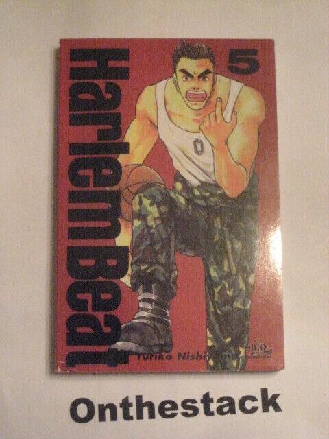 MANGA:    Harlem Beat Vol. 5 by Yuriko Nishiyama (2001, Paperback)