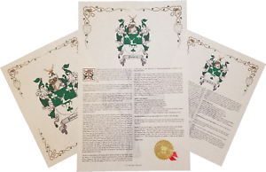 Details about Find Your Name Here - Family Coat of Arms Crest Prints -  English Origin
