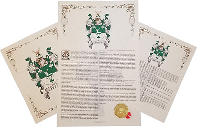 Find Your Name Here Family Coat Of Arms Crest Prints English Origin Ebay