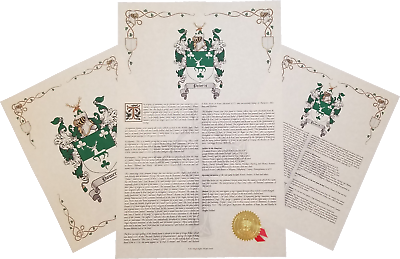 Find Your Name Here - Family Coat of Arms Crest Prints - English Origin |  eBay