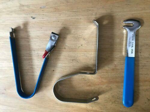 LOT VTG Park Tools BT1 3rd Hand BT2 4th Hand BT3 Brake Toe-In Tool Repair NLA