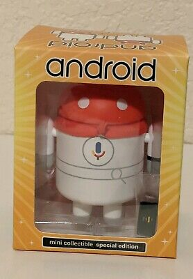 "Android Mini Collectible /""I//O 2018/"" Google Special Edition Figurine Doll"