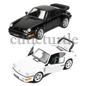 Welly-PORSCHE-964-Turbo-1-24-1-27-modello-pressofuso-visualizzazione-auto-giocattolo-24023