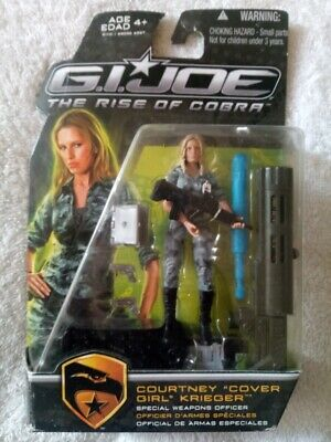 Special Weapons... Hasbro G.I Joe Rise of Cobra Courtney Cover Girl Krieger