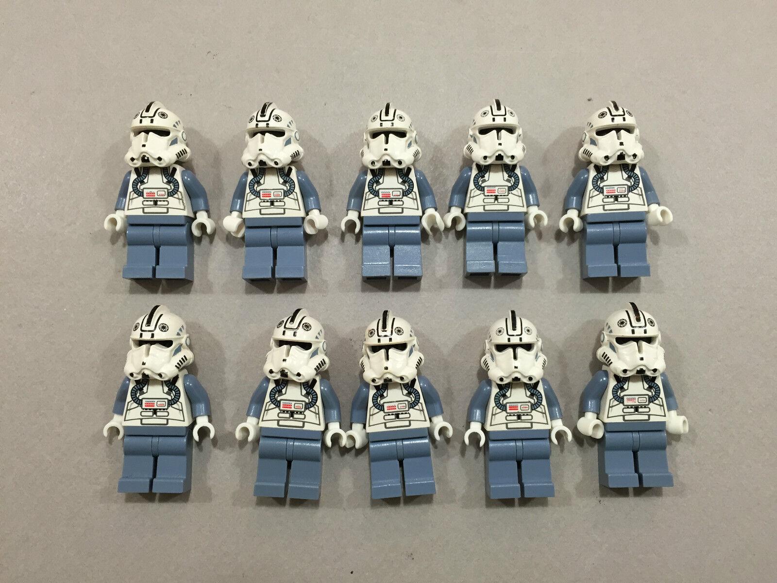 LEGO Clone Trooper Lot of of of 10 Star Wars Minifigure minifig Huge LOT Clones Z143 fda57f