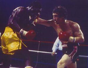 """Duk Koo Kim Ray /""""Boom Boom/"""" Mancini vs - 8x10 Color Photo Nov. 13, 1982"""