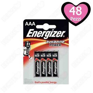 48-Batterie-Pile-Energizer-Alcaline-MiniStilo-AAA
