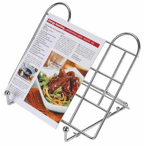 KitchenCraft Adjustable Folding Recipe Book Holder