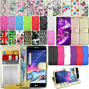 new style a2074 87b30 Details about For LG K8 2017 M200N / K4 2017 M160 K8 2018 Wallet Leather  Case Flip Book Cover