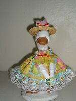 Goose Geese 11 Teen Clothes Easter Dress And Hat Outfit 292-38