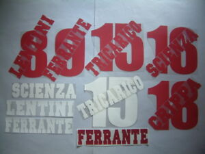 KIT-NOME-NUMERO-UFFICIALE-TORIN-HOME-AWAY-1998-1999-OFFICIAL-NAMESET-PLAYER-SZ