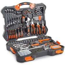 VonHaus 256pc Premium Household Hand Tool, Bits & Socket Wrench Set