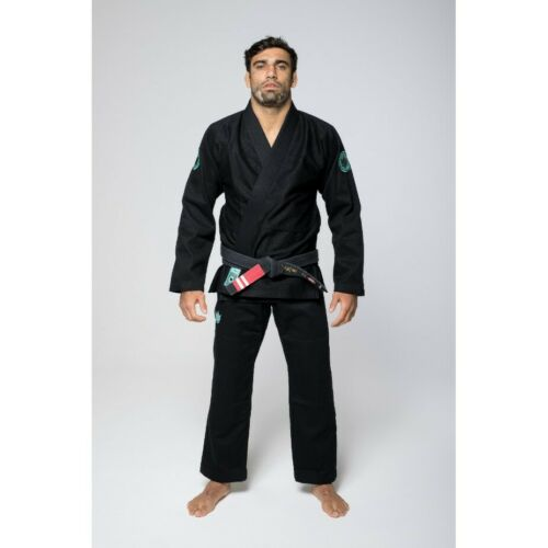 Kingz Classic 3.0 BJJ Gi Black Brazilian Jiu-Jitsu Gi Kimono Uniform Grappling